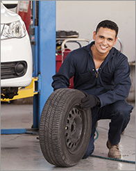 Pride Auto Body: Parshall Tire Shop - Tire Selection